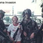 Grimes in Panama Invasion
